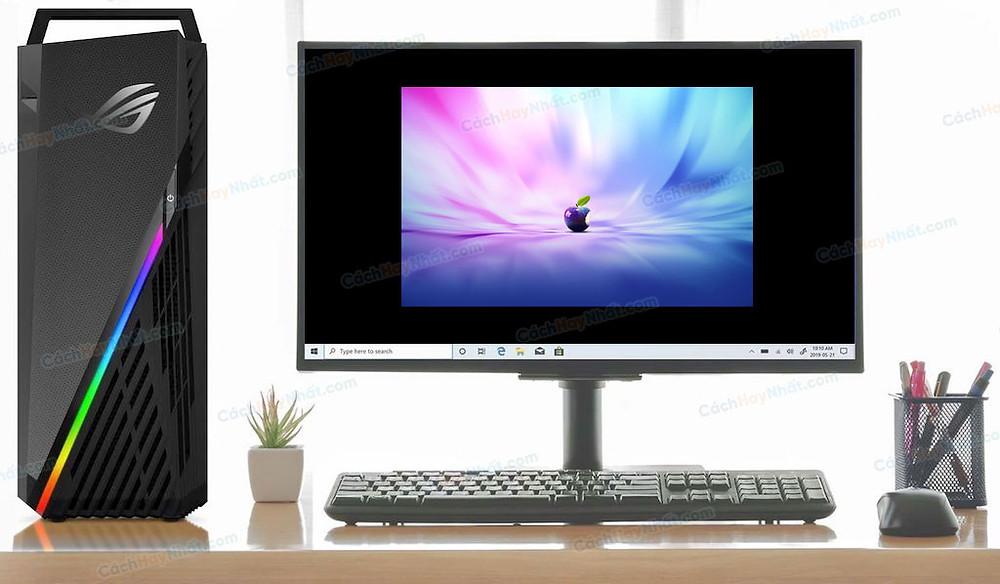 bộ máy tính trên bàn