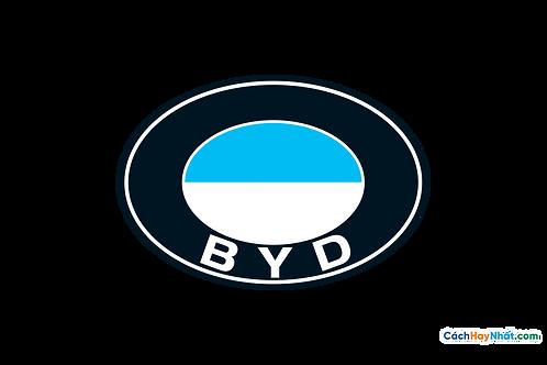 Logo BYD 3D Vector PDF PNG