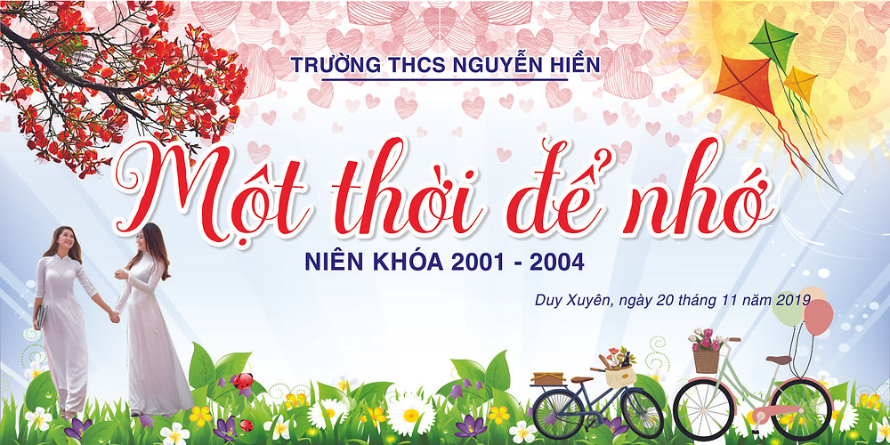 Free Download Mẫu Backdrop Phông Họp Lớp Vector CDR PSD