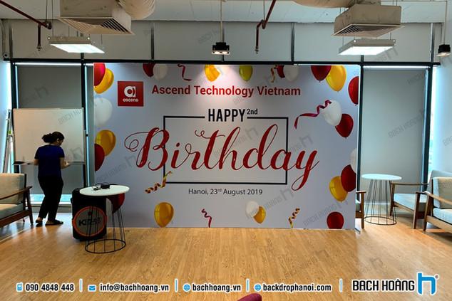 Happy Birthday 2nd - Ascend Technology Vietnam