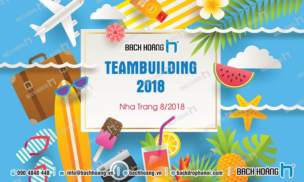Mẫu backdrop phông Gala Dinner, Team Building đẹp nhất 46