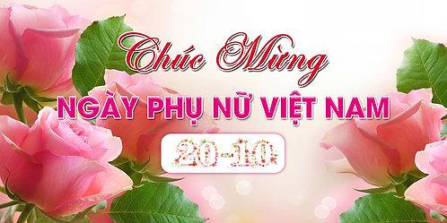 Phông Nền Background Ngày Phụ Nữ Việt Nam 20/10 PSD Photoshop 05