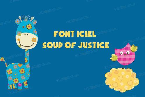 Download Font Iciel Soup Of Justice Việt Hóa