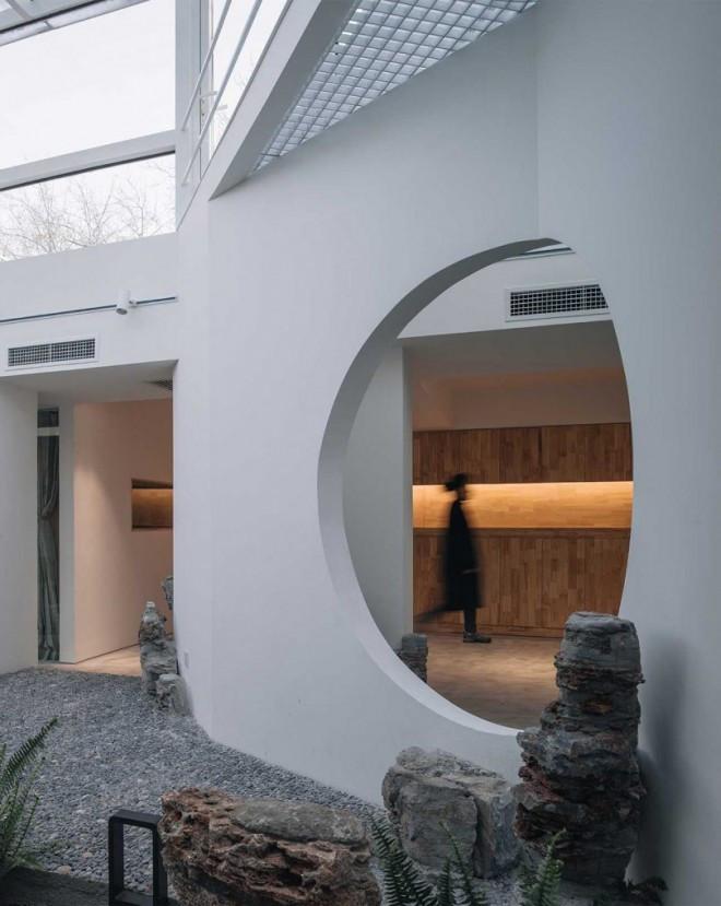 Đạt giải thưởng thiết kế không gian trà vườn cây phượng bởi qingfan zhang