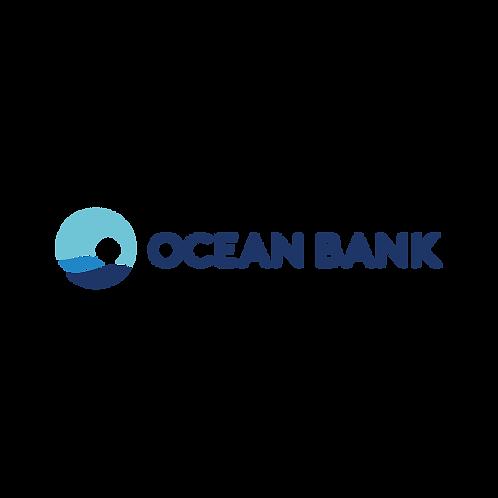 OceanBank Logo Vector PDF PNG