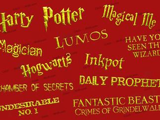 Bộ 27 font Harry Potter - Phông chữ Thế giới phù thủy