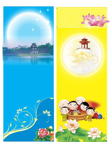 Banner Băng Rôn Trung Thu Vector Corel CDR 171
