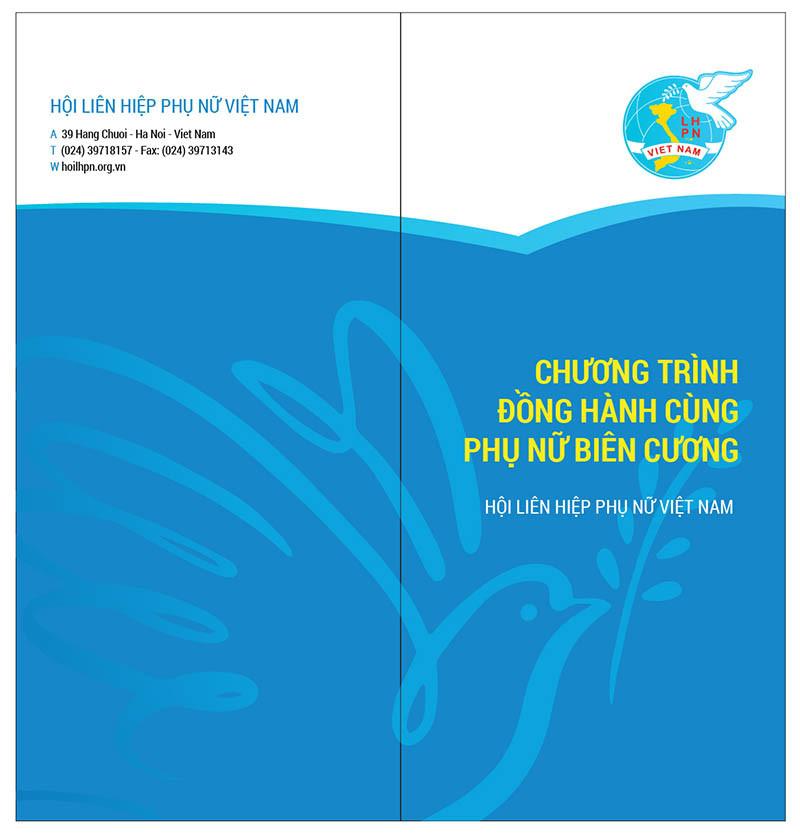 Tờ Rơi Leaflets Hội LHPN Việt Nam