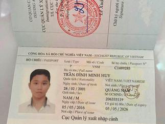 Download File PSD Passport - Hộ Chiếu