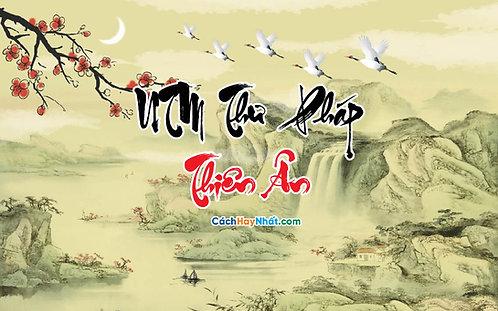 Download Font UTM Thư Pháp Thiên Ân Việt Hóa