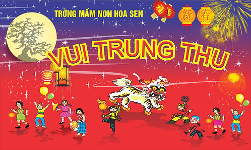 Tết Trung Thu Mid-Autumn Festival Vector Corel CDR 32