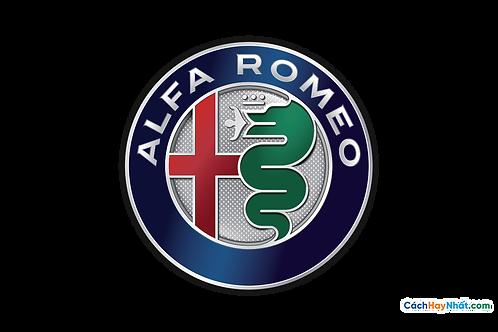 Logo Alfa Romeo 3D Vector PDF PNG