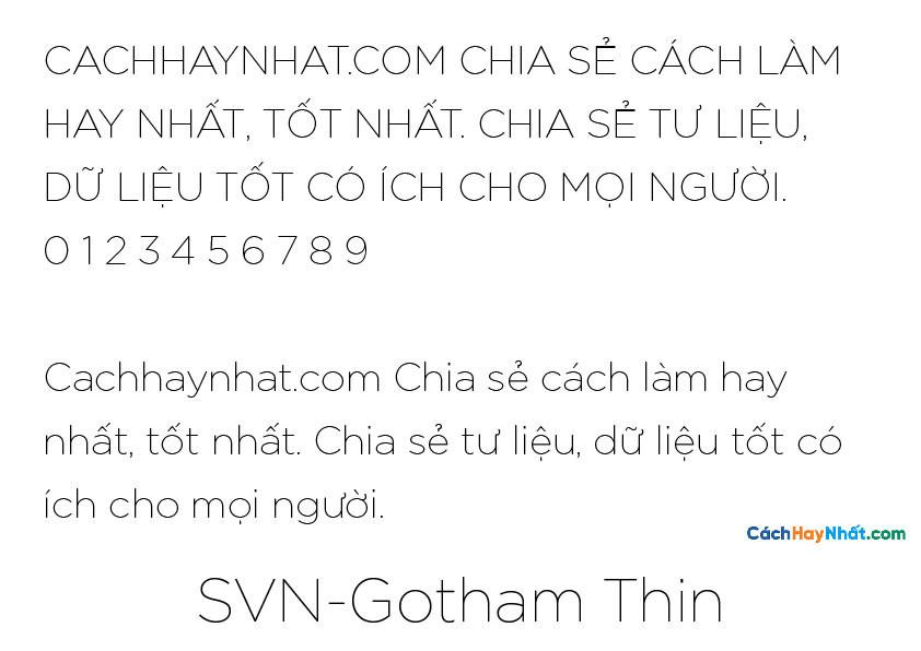 SVN-Gotham Thin