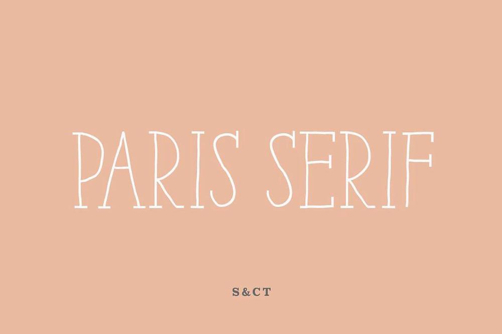 Font iCiel Paris Serif Bold Việt Hóa