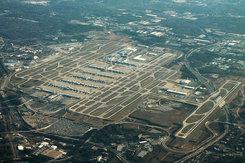 1. Sân bay quốc tế Hartsfield-Jackson Atlanta 110,5 triệu hành khách