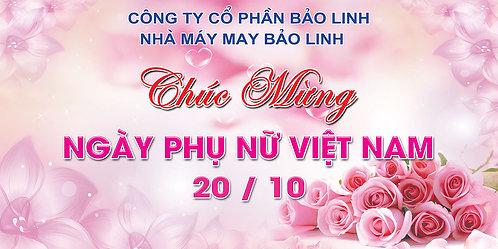 Phông Nền Background Ngày Phụ Nữ Việt Nam 20/10 PSD Photoshop 06