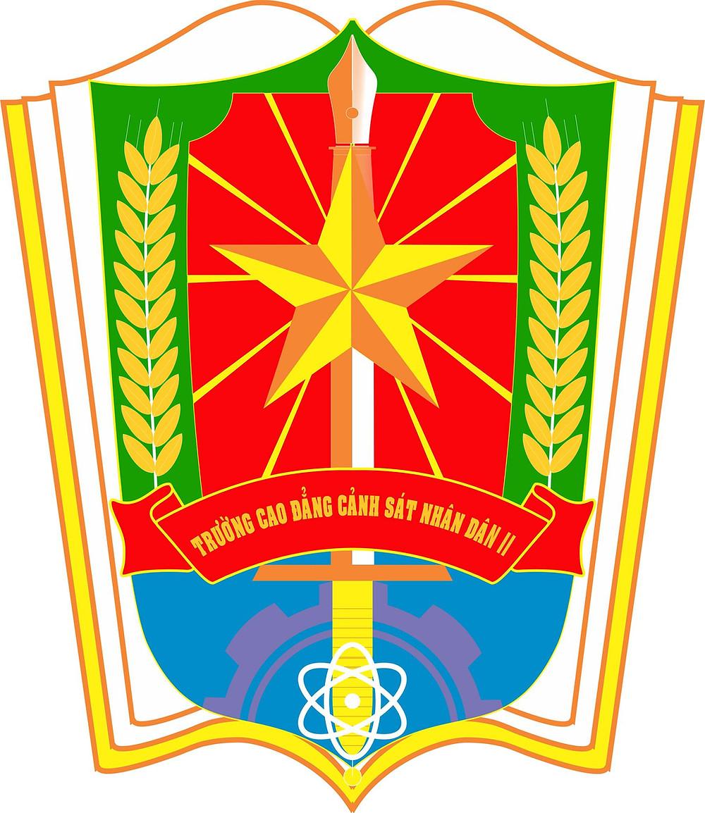 Logo Trường Cao đẳng Cảnh sát Nhân dân II