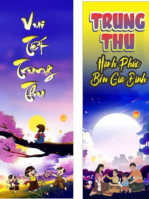 Banner Băng Rôn Trung Thu Vector Corel CDR 156