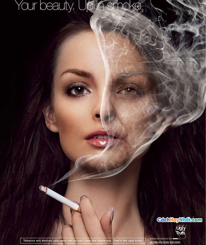 Quảng cáo chống hút thuốc