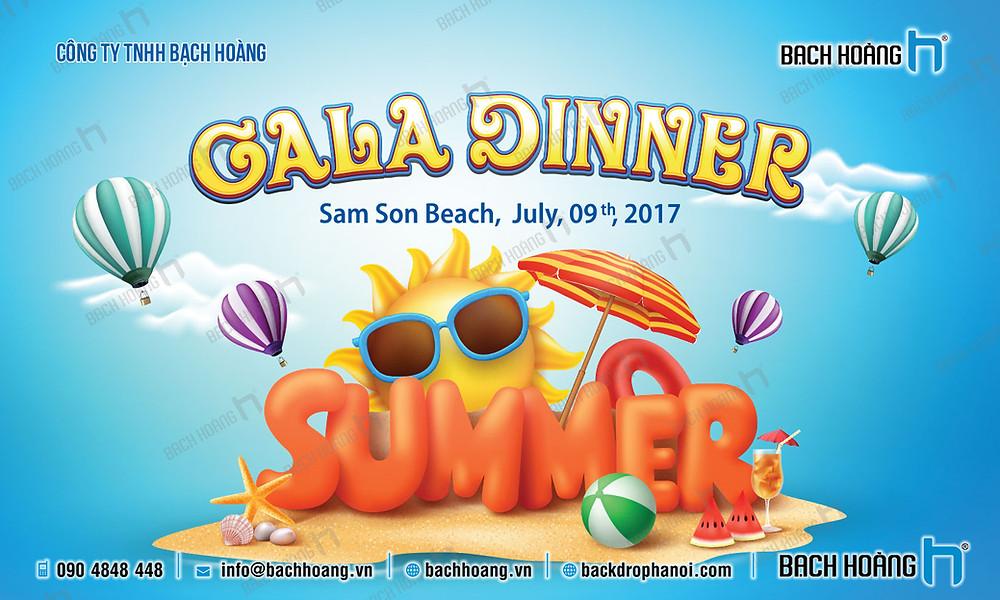 Mẫu backdrop phông Gala Dinner, Team Building đẹp nhất 16