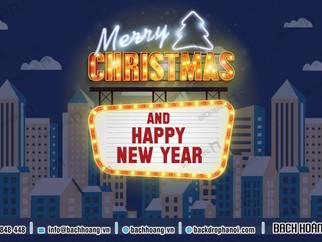 Tổng Hợp Mẫu Backdrop Phông Noel Giáng Sinh Merry Christmas Đẹp Nhất Phần 04
