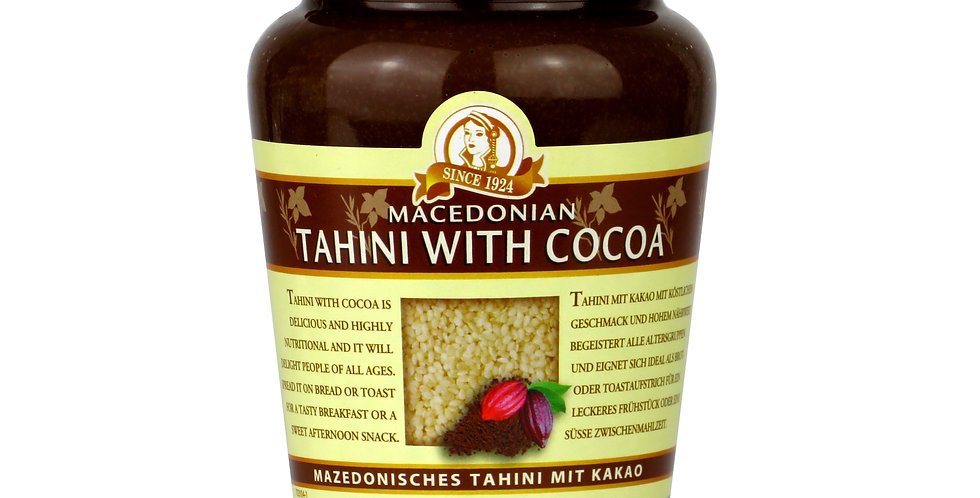 Tahini mit Kakao 350gr   12,89 € pro Kg