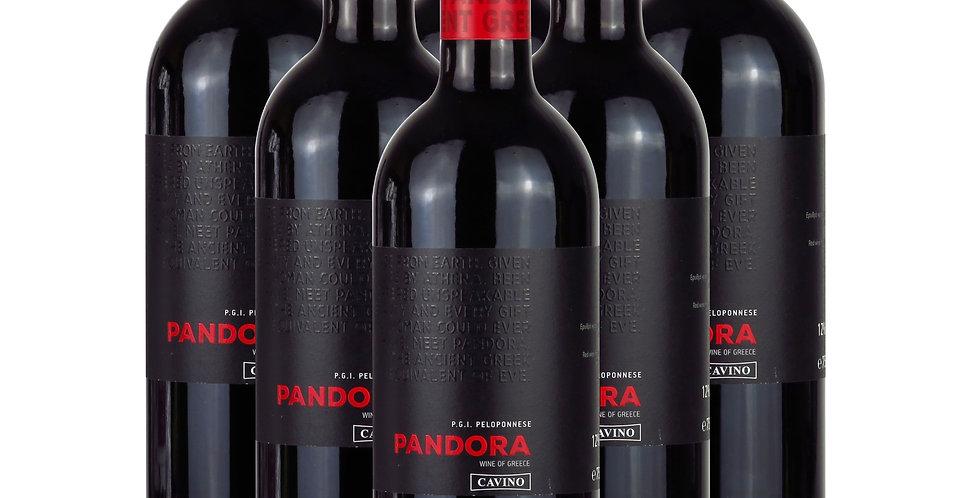 Pandora Rotwein 6x 750ml (4,5L.) 7,88 € pro Liter