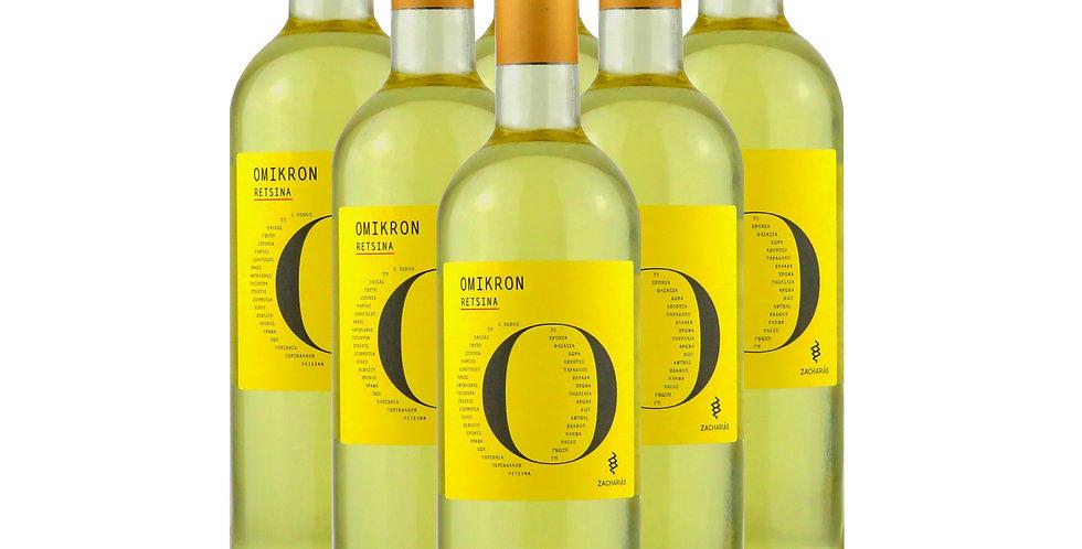 Retsina Omikron 6x 750ml (4,5L.) 7,41€ pro Liter