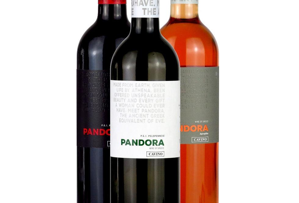 Probierset Pandora 3x750ml (2,5L.)   7,88 € pro Liter