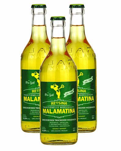 Retsina Malamatina 3x500ml