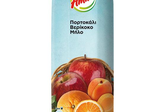 Amita Orange, Pfirsich, Apfel 1 Liter 2,45 € pro Liter