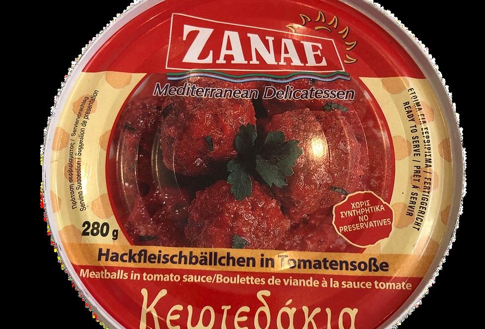 Keftedakia in Tomatensauce 280gr  12,32 € pro Kg
