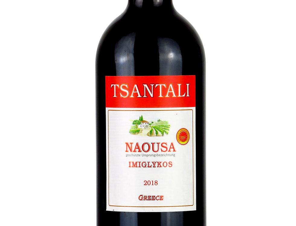 Imiglykos Rotwein lieblich 750ml  9,20 € pro Liter