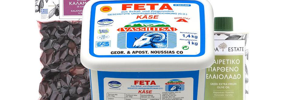 Feta Paket Thessaloniki (1Kg Feta) 14,03 € pro Kg