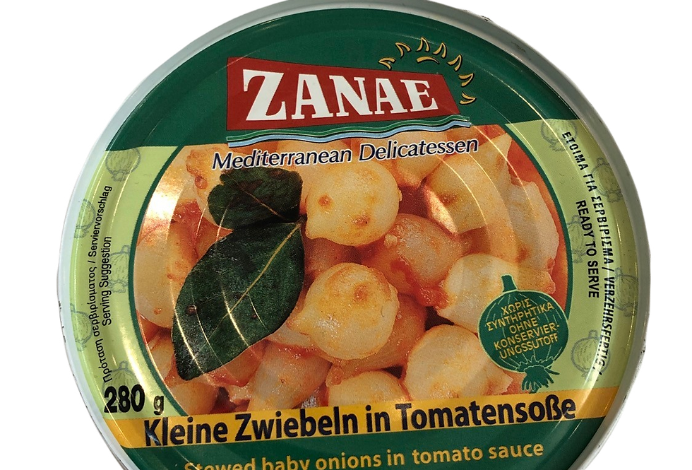 Zwiebelchen in Tomatensauce 280gr  10,54 € pro Kg