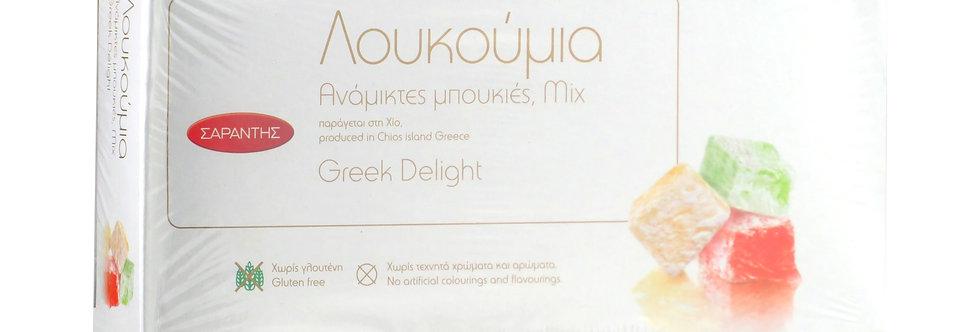 Loukoumia Mix 400gr  7,48 € pro Kg
