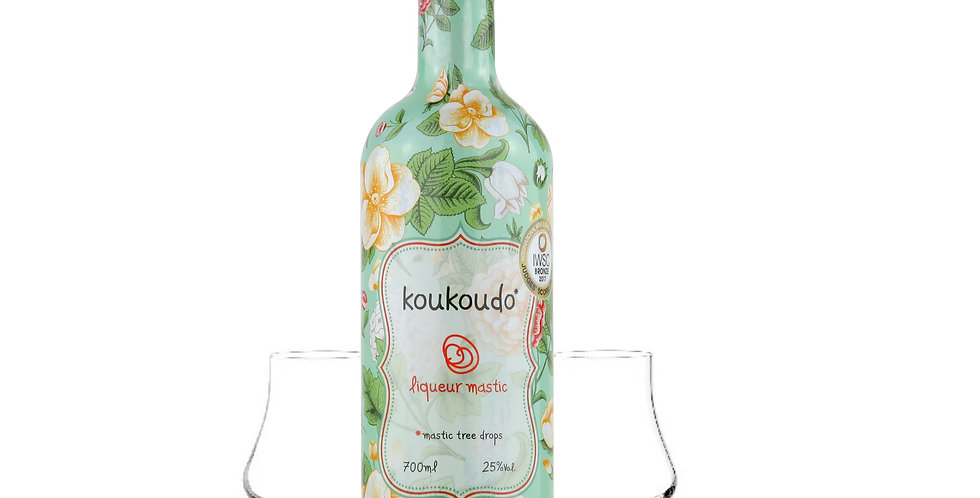 Koukoudo 700ml mit 2x Noising Gläser  38,56 € pro Liter