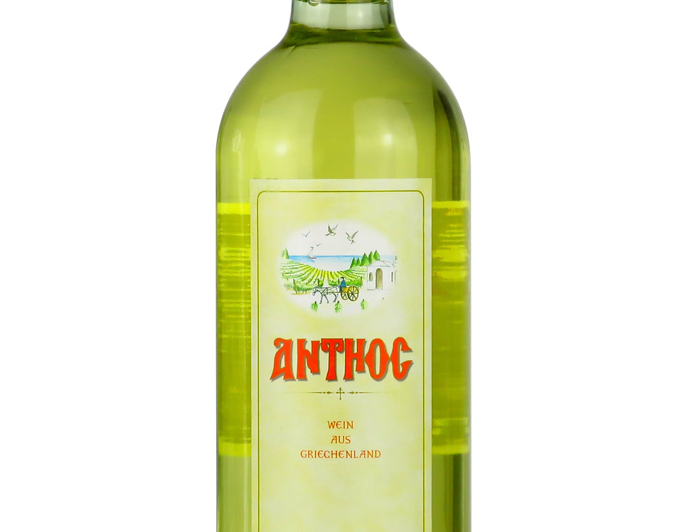 Anthos Weisswein trocken 750ml   8,52 € pro Liter