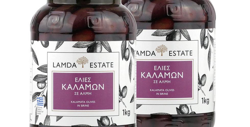 Kalamata Oliven Doppelpack 2Kg  9,31€ pro Kg