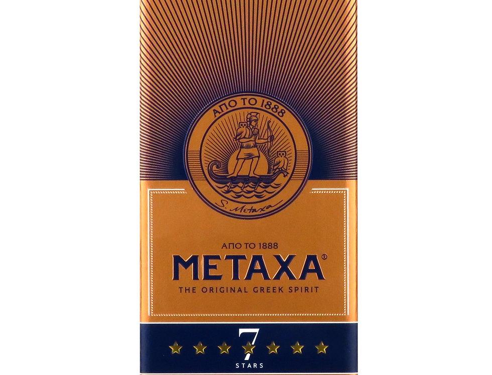 Metaxa 7 Sterne mit Box 700ml Flasche  28,50 € pro Liter
