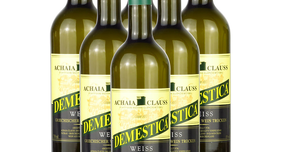 Demestica Weiss trocken 6x 750ml   7,23 € pro Liter