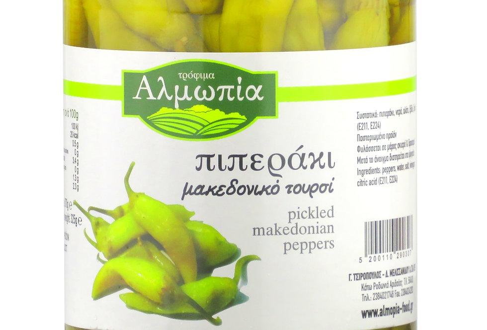Peperonis mild Almopia 325g 10,77 € pro Kg