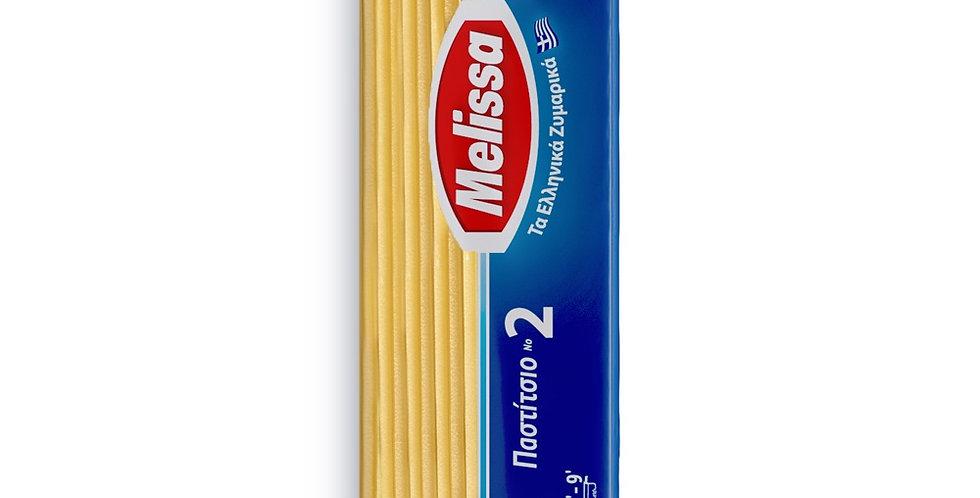 Melissa Nudeln N2 (für Pastizio) 500gr   2,98 € pro Liter