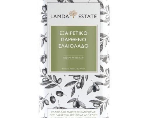 Lamda Estate Olivenöl 3L.
