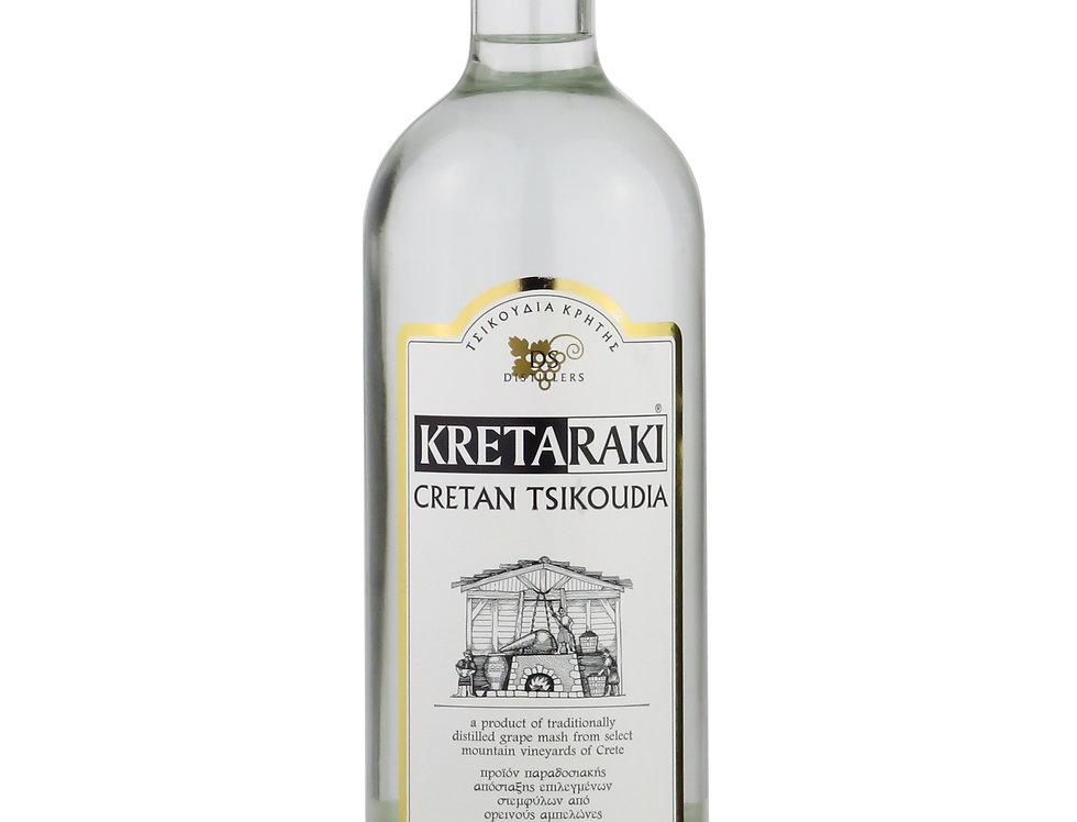 Tsikoudia Kreta - ohne Anis 700ml 27,07 € pro Liter