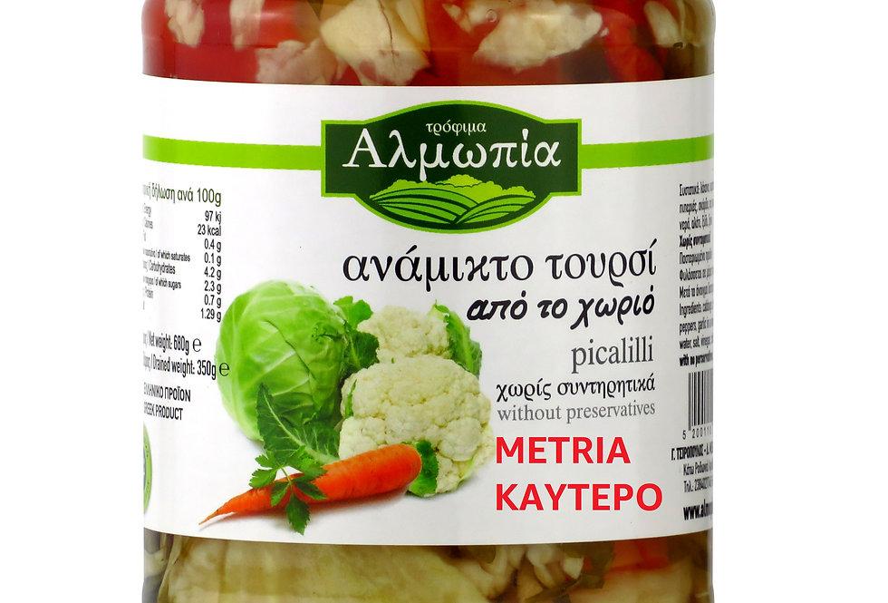 Toursi (Gemüse mittelscharf) 350g