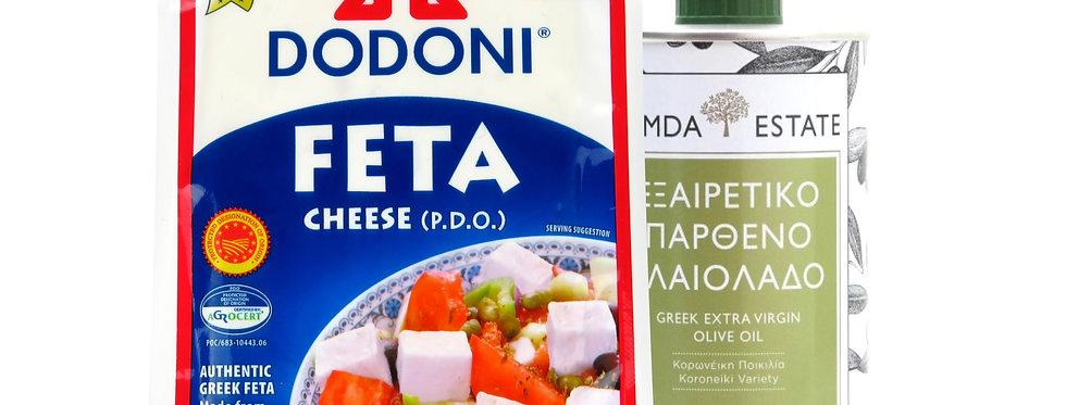 Dodoni Feta & Olivenöl Paket 13,84 € pro Kg