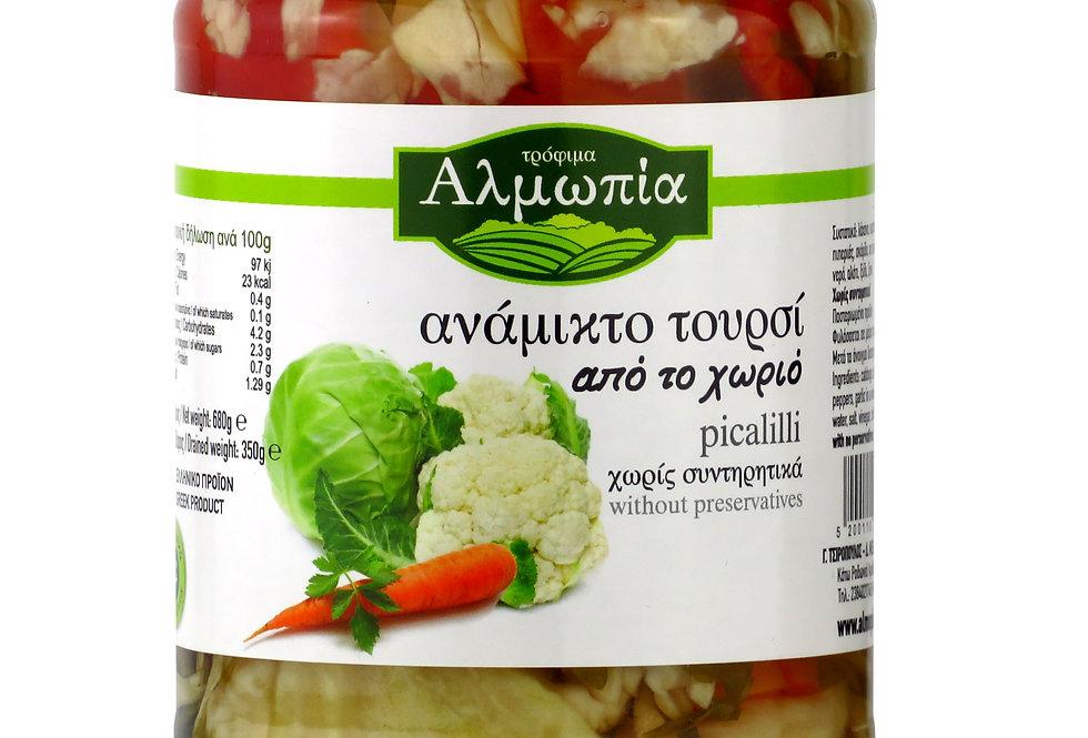 Toursi (eingelegtes Gemüse) 350g 10,77 € pro Kilogramm