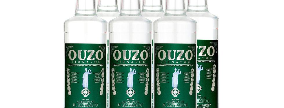 Ouzo grün  - Original -  6x 700ml  17,99 € pro Liter