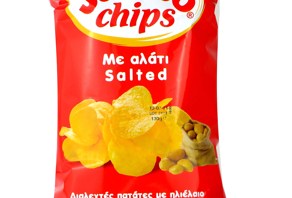 Jumbo Chips Salz 130g 11,46 € pro Kg